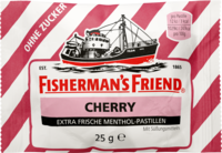 FISHERMANS FRIEND Cherry ohne Zucker Pastillen