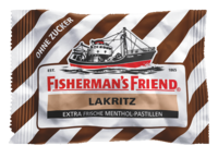 FISHERMANS FRIEND Lakritz ohne Zucker Pastillen